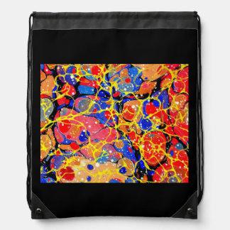 Butterfly Splash drawstring backpack