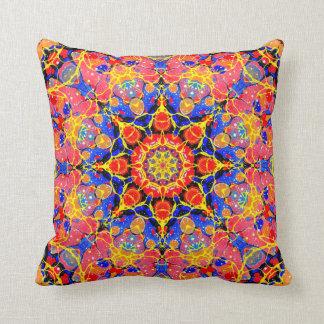 Butterfly Splash Kaleidoscope pillow