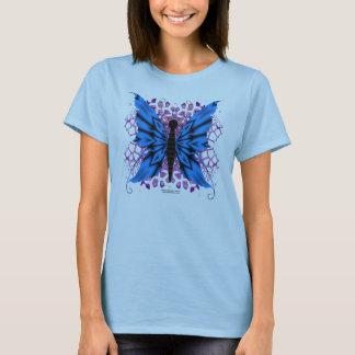 Butterfly Splash Ladies Babydoll Shirt