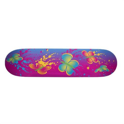 Butterfly Splash Skateboards