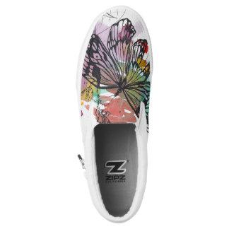 Butterfly Splash Slip On Sneaker Printed Shoes