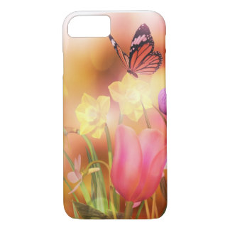 Butterfly Spring sun dance iPhone 7 case