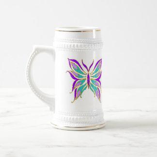 Butterfly Stein 18 Oz Beer Stein