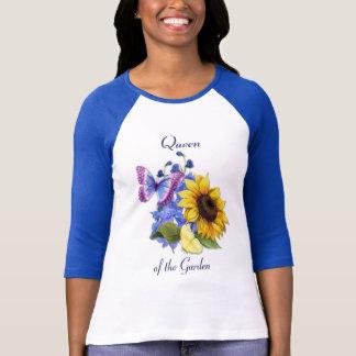 Butterfly Sunflower Garden T-Shirt
