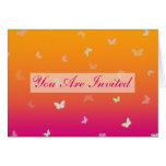Butterfly Sunrise multi-use Invitation Greeting Card