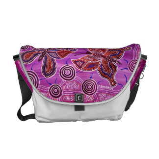 Butterfly Sunset Dreaming Courier Bag
