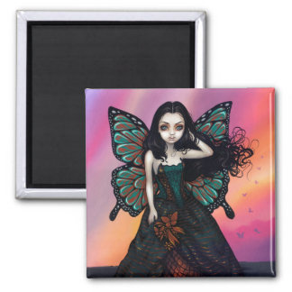 """""""Butterfly Sunset"""" Magnet"""