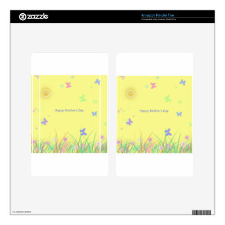 Butterfly Sunshine Mothers Day Kindle Fire Skin