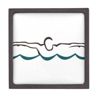 Butterfly Swimmer Keepsake Box