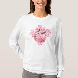 Butterfly swirl Bride T-Shirt