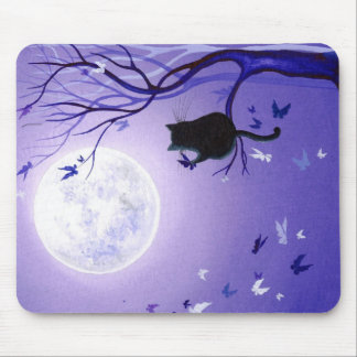 Butterfly Swirl Mouse Pads