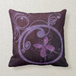 Butterfly Swirls Pillow