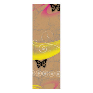 butterfly swishes business card templates