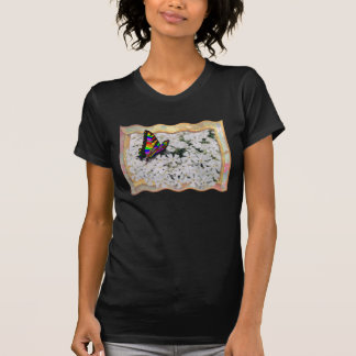 BUTTERFLY-T-SHIRT MULTICOLOR CAMISETAS