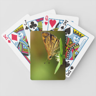 Butterfly Tamil Grass Dart with Bokeh Background Bicycle Playing Cards