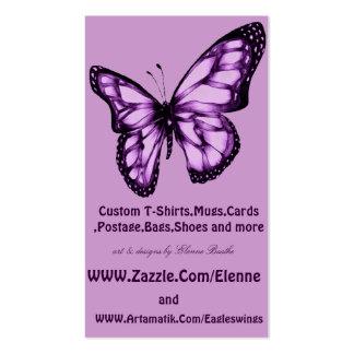 Butterfly Tarjetas De Visita