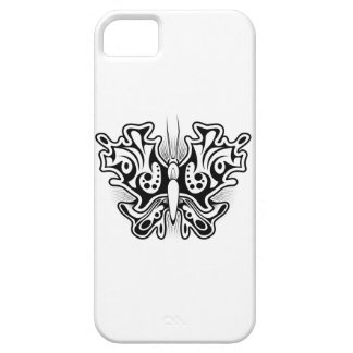 Butterfly Tattoo Black and White iPhone SE/5/5s Case