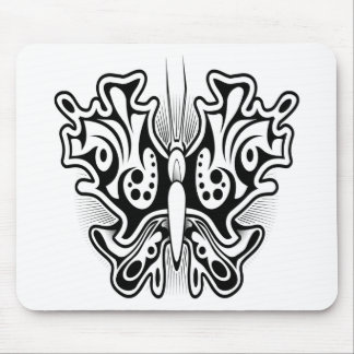 Butterfly tattoo design mouse pad