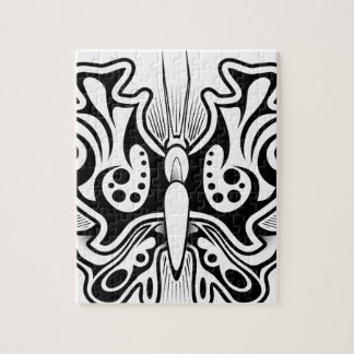 Butterfly tattoo design puzzles
