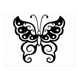 Butterfly Tattoo Postcards