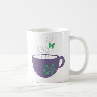 Butterfly Teacup Coffee Mug