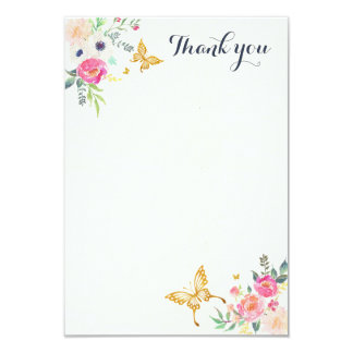 Butterfly Thank You Cards | Zazzle