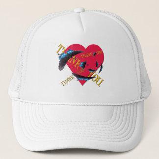 Butterfly Thank You Trucker Hat