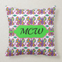 Butterfly Theme Pillow 2 - See Back