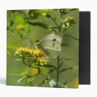 Butterfly, Three Ring Binder. Binder