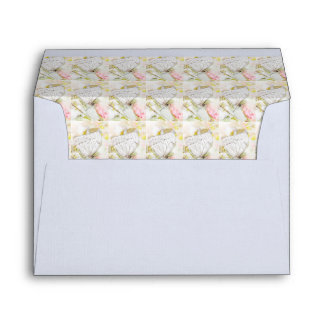 Butterfly Tiles Watercolor Envelope Collection