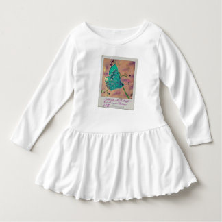 Butterfly toddler dress