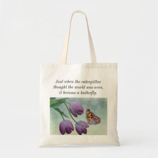 Butterfly Tote Budget Tote Bag
