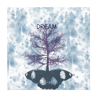 Butterfly Tree Dream Canvas Prints