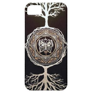 Butterfly Tree Mandala iPhone SE/5/5s Case