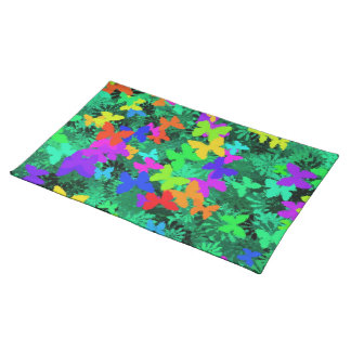 butterfly tree placemat cloth place mat
