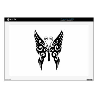 Butterfly Tribal Laptop Decal