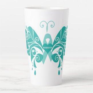 Butterfly Trigeminal Neuralgia #1 Latte Mug