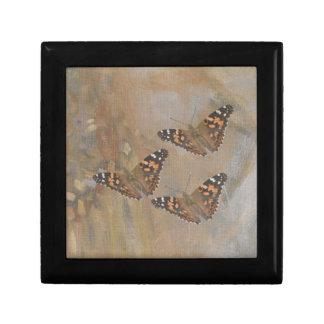 Butterfly Trio Jewelry Box