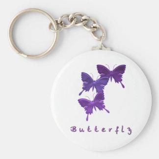 Butterfly Trio Keychain