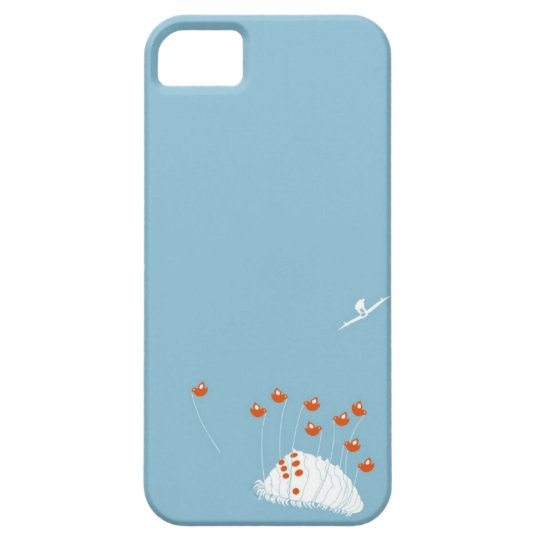 Butterfly Tweets iPhone 5 Case