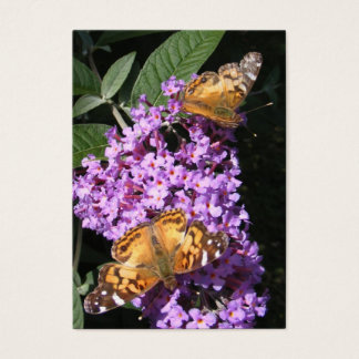 Butterfly Twins ~ ATC Business Card