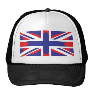 Butterfly UK England Flag Hat