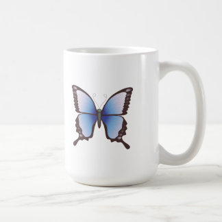 Butterfly: Vector Illustration: Classic White Coffee Mug