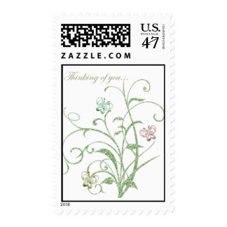 Butterfly Vine Postage Stamp
