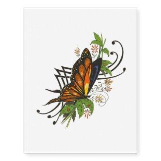 butterfly vine temporary tattoo2 temporary tattoos