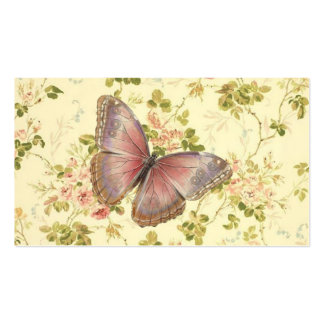 Butterfly & Vines Shabby Chic Calling Cards Business Card