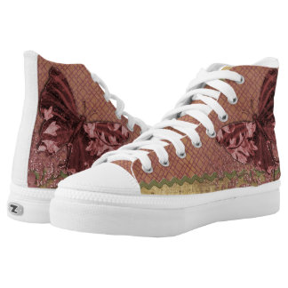 Butterfly vintage High-Top sneakers