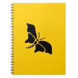 Butterfly Vintage Wood Engraving Journal
