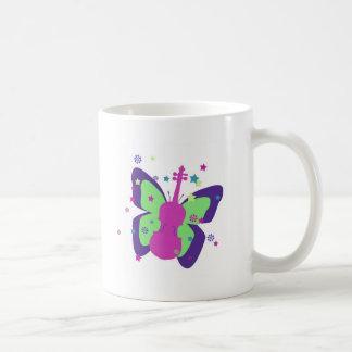 Butterfly Violin Coffee Mug