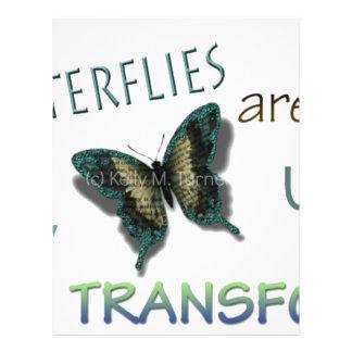 Butterfly Virtues Letterhead Design